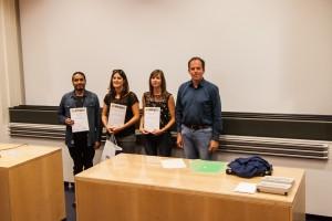 Young Karst Researcher Prizes : Axayacatl Maqueda, Lorraine Dewaide, Timea Havril, and Nico Goldscheider