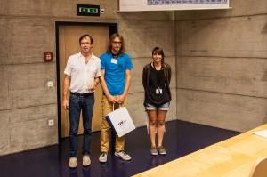 Best poster Prize Philippe Renard, Matej Blatnik, Celia Trunz